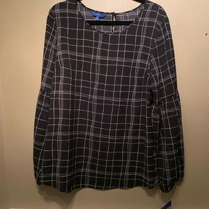 NWT APT 9 Long Sleeve Blouse